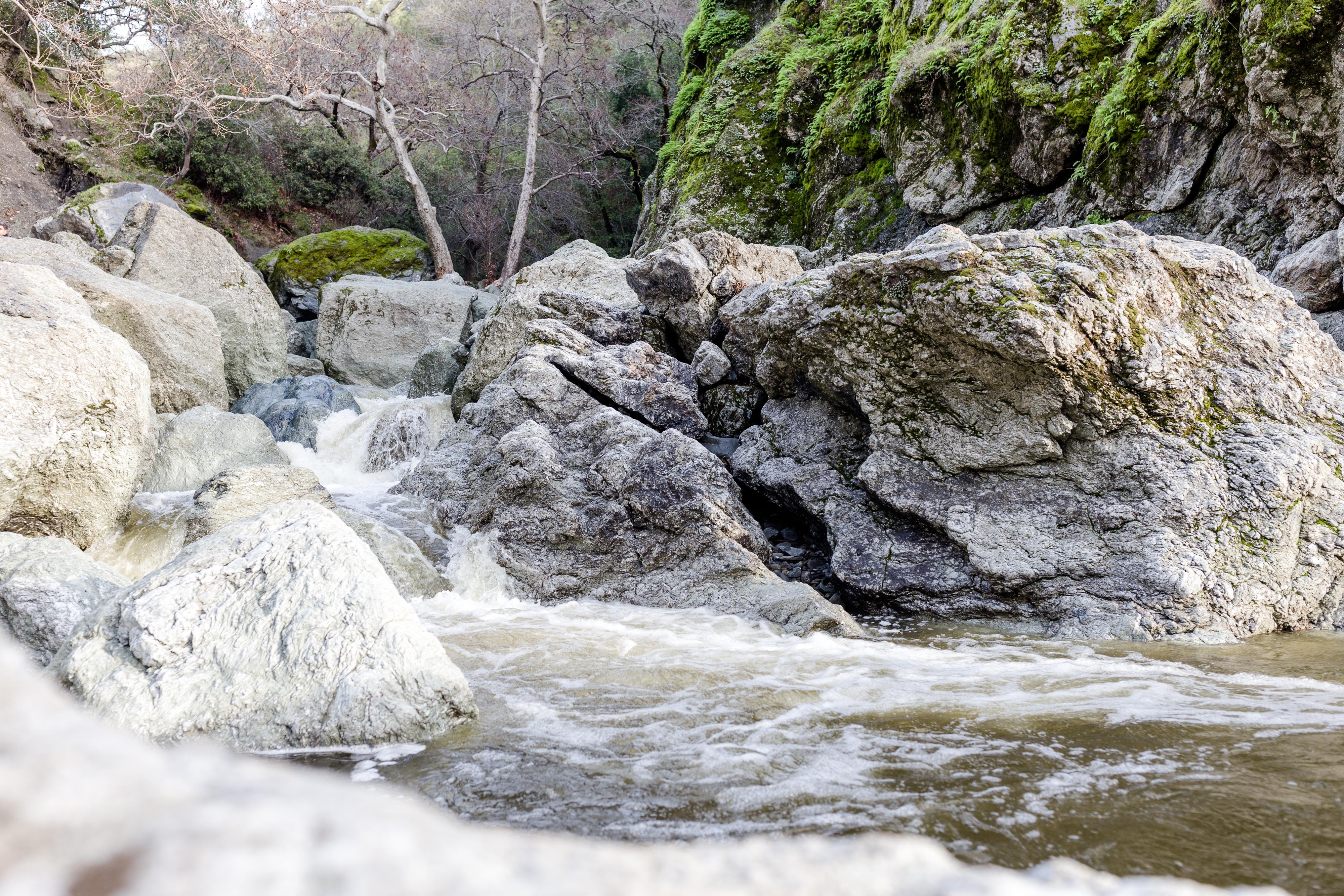 Waterfalls at Little Yosemite in Sunol, CA